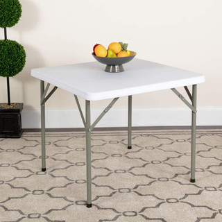Folding Table Square 34 inch