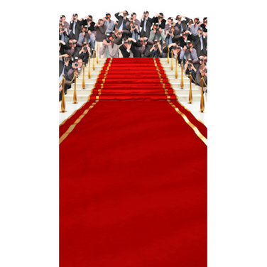 Backdrop Cloth Red Carpet