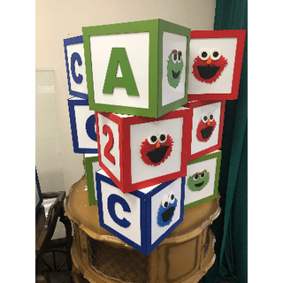 Character Cubes 10X10