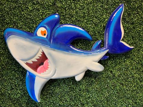 Shark Backdrop Prop