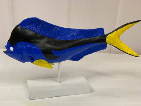 Blue Fish Centerpiece