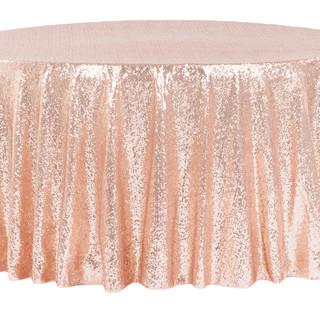 Sequin Tablecloth Blush