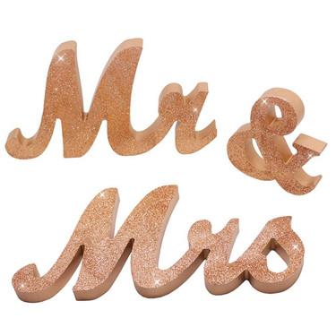 Mr&Mrs Rose Gold