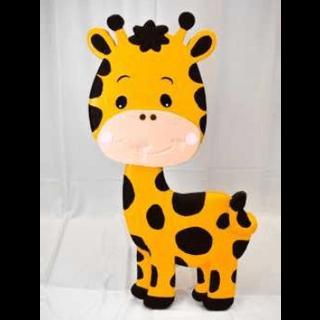 Baby Giraffe 3D Floor Prop 4ft Tall