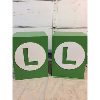 Column Luigi 18X18X30