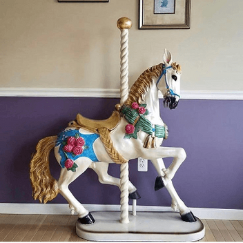 Carousel Standing Horse