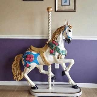 Carousel Standing Horse