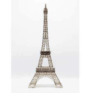 Eiffel Tower Centerpiece 25inch Tall Sil