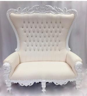 Double Throne White White
