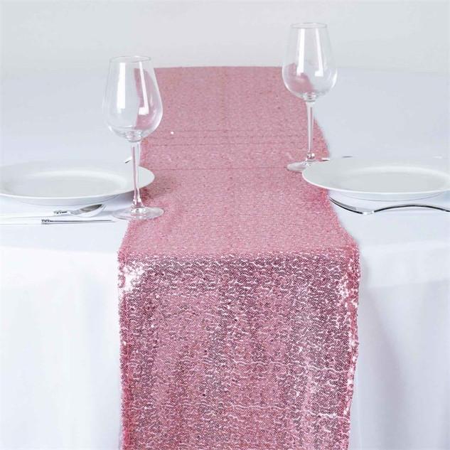Sequin Runner Pink