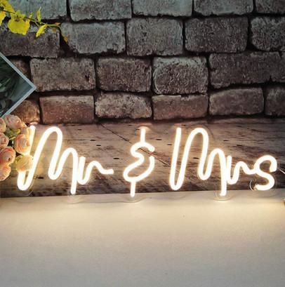 Neon Mr. & Mrs