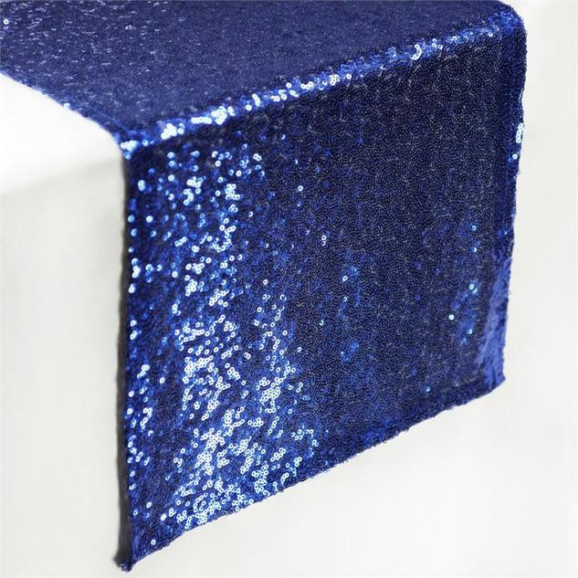 Sequin Runner Royal  Blue