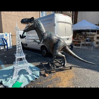 Dinosaur Tyrannosaurus Rex Statue 9ft Ta