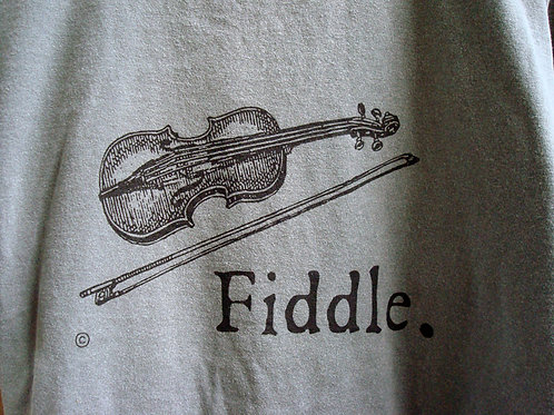 vintage fiddling stone-washed t-shirt