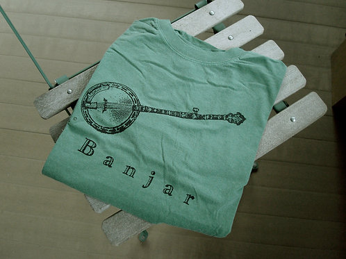 banjo t-shirt green