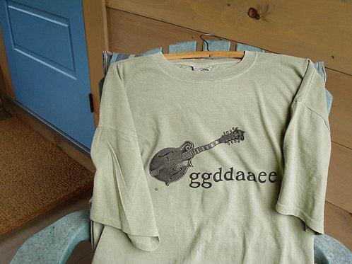 mandolin ggddaaee tuning t-shirt