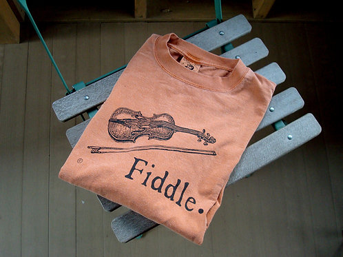 fiddle oldtime t-shirt