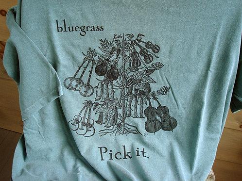bluegrass pick it t-shirt