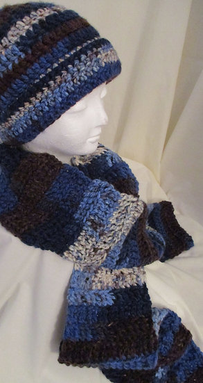 Hat and Scarf Sets | Knit | Crocheted