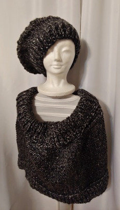 Poncho and Hat | Knit
