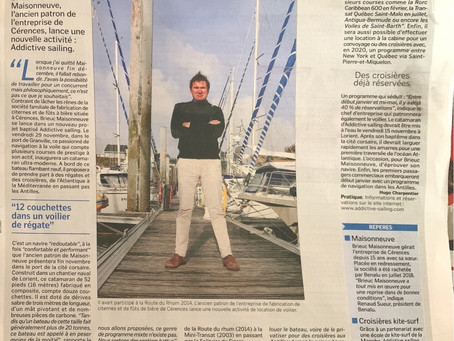 Addictive-Sailing dans la presse!