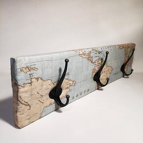 Perchero Mapa Mundi