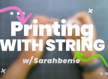 Printing with String