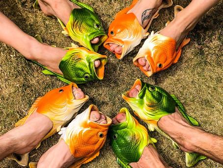 Funny...fishy feet...