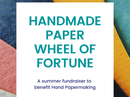 Spin the Handmade Paper Wheel of Fortune!