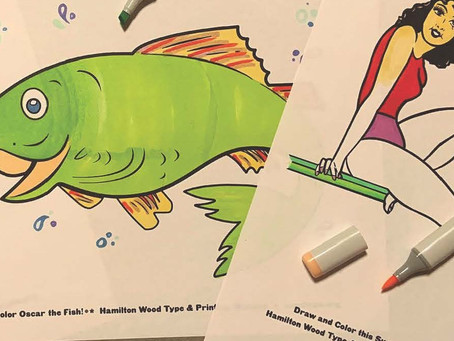 Some more fun Coloring pages (not your usual coloring pages!) And activities.