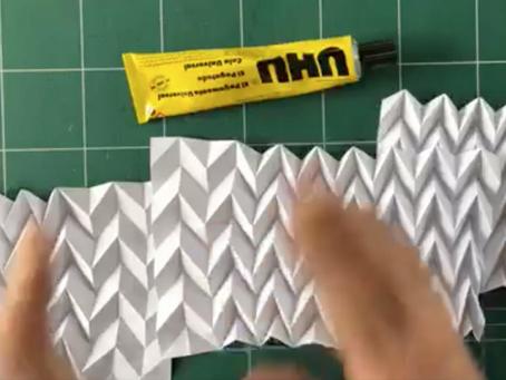 Origami Circular Fan to make