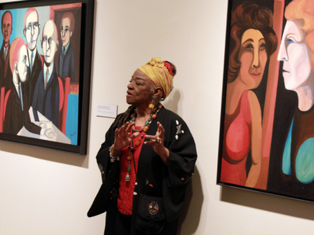 Faith Ringgold, story quilts, art & activism