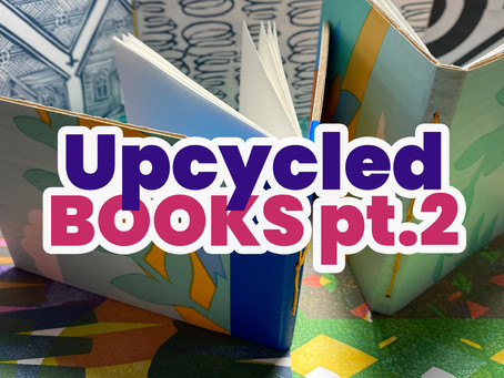 Upcycled Books (part 2)