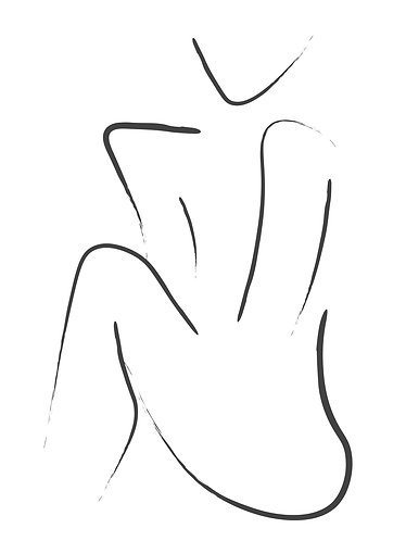 Figure Drawing - Print