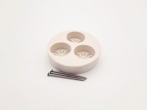 Gießform für Teelichter