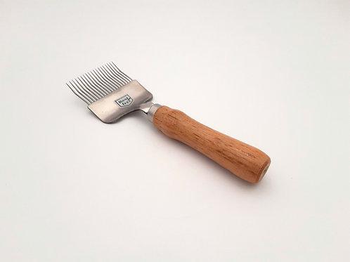 Entdeckelungsgabel mit Holzgriff
