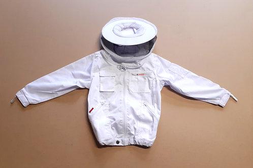 Kinder-Schutzhemd weiß