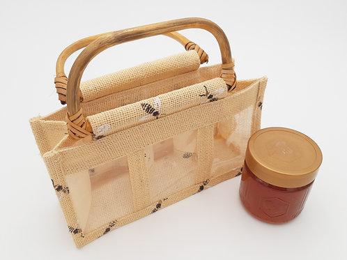 Honiggläserkorb