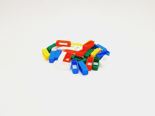 Kreuzklemmen in verschiedenen Farben