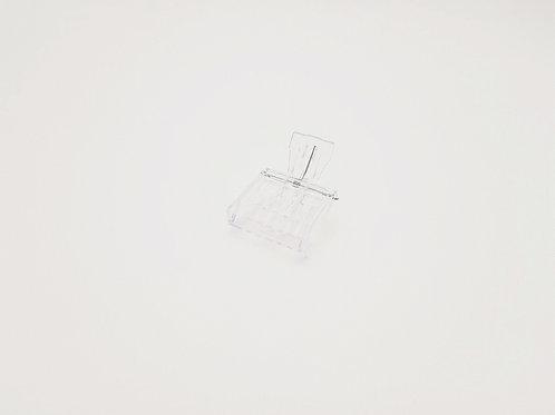 Abfangclip transparent