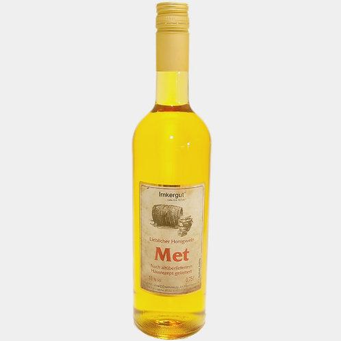 Met 0.75 L Flasche