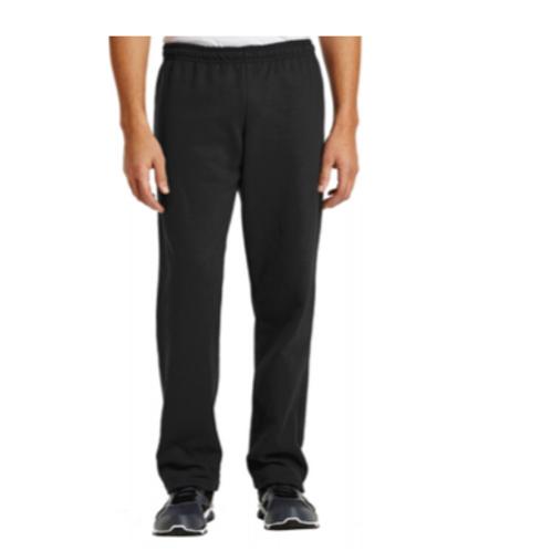Open Bottom Sweatpants