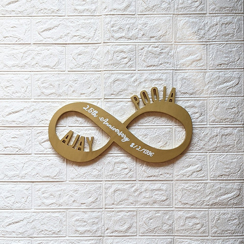 Infinity Nameplate