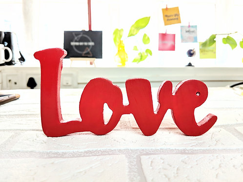 Love - 3D word