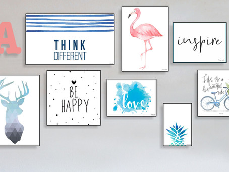 Learn more about the two wall decor finishes available!