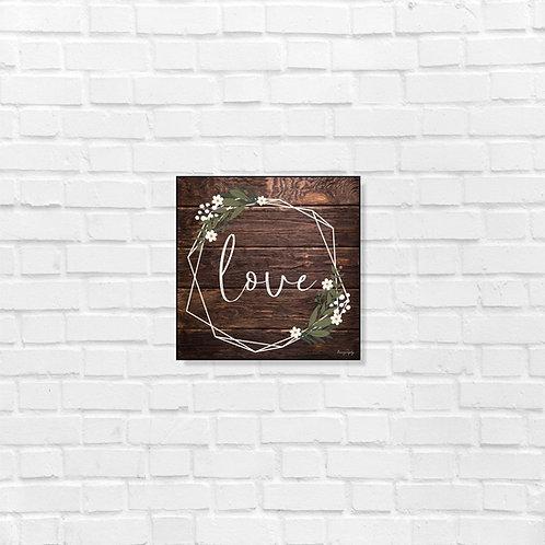 Love - art frame