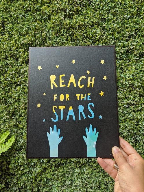 Reach for the Stars - Art frame