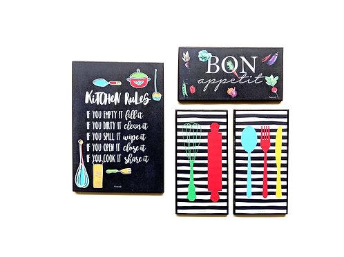 Kitchen Rules + Bon appetit + Kitchen tools