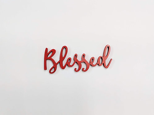 Blessed -3D word