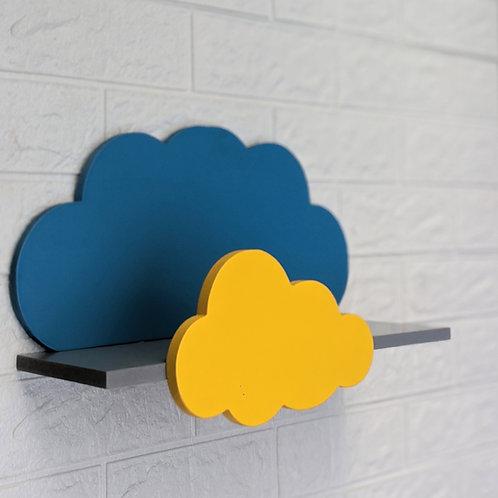 Cloud Shaped Floating Shelf